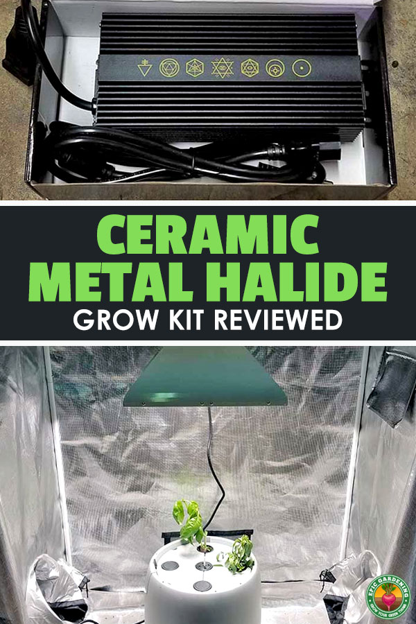 Today, we're taking a look at a complete lighting kit from my friends over at GrowersHouse. I've talked about ceramic metal halide lights in-depth before, but realize that they might be a bit expensive for most growers to get started with.
