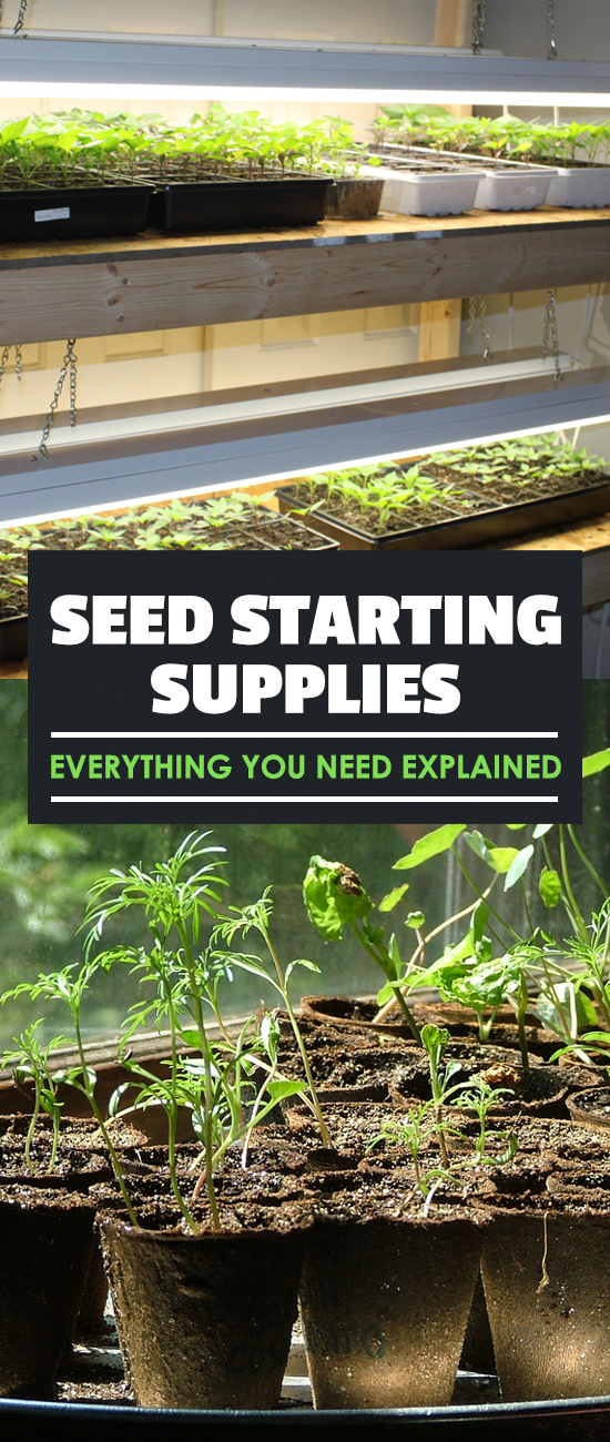 For most of us, starting seeds can either be full of joy or fear. Knowing exactly which seed starting supplies will work best is a great way to prepare.