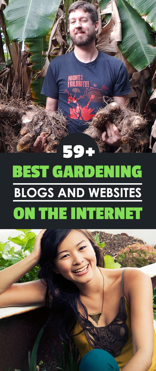 These are some of the best gardening blogs and websites that I\'ve come across - 59 of them. Read them and learn awesome gardening tips and tricks.