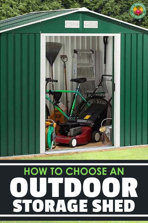 The best outdoor storage shed for you depends on a number of factors which we lay out here in this detailed storage shed buyer's guide. Take a look!