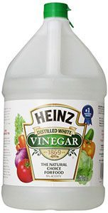 Vinegar for powdery mildew