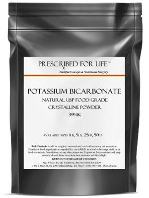 Potassium Bicarbonate for Powdery Mildew