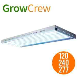 Prism Lighting Science 4', 8-Bulb T5 Grow Light Fixture