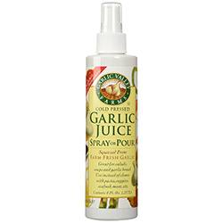 Garlic Spray for Grasshoppers