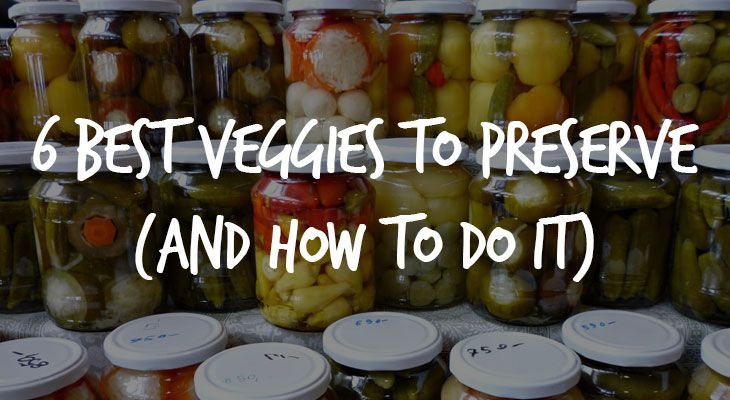 Best Veggies to Preserve