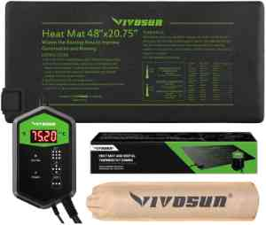 Vivosun Heat Mat & Thermostat Set