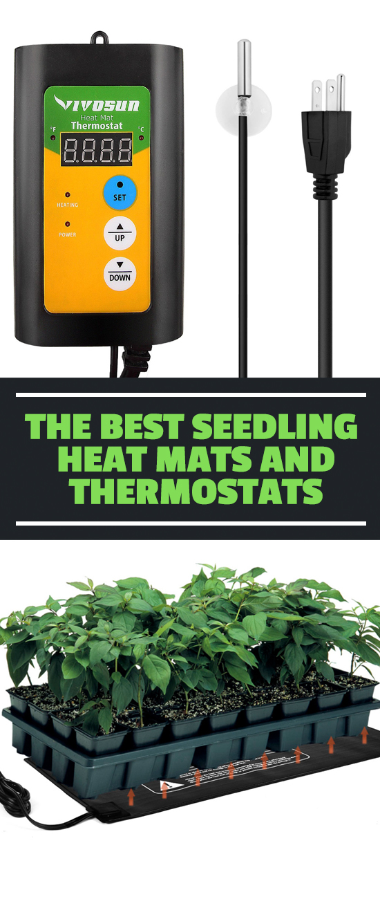 Seeds germinate much better in warm soil, but how do you do that indoors? With a seedling heat mat. Find out how to use them and which are the best here.
