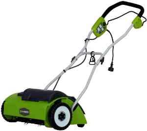 GreenWorks 14″ Corded Dethatcher