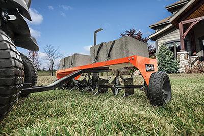 best lawn aerator machine