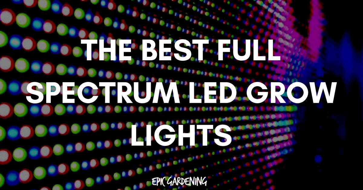 Best Full Spectrum LED Grow Lights