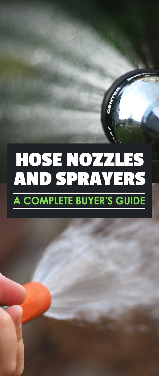 The best hose nozzles and sprayers for you depend on your unique needs in the garden. Find out nozzle types, best brands, and the features you need in a nozzle.