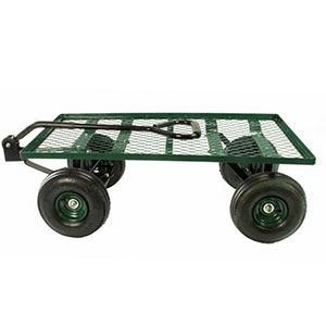 flatbed garden carts