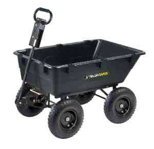 Gorilla Carts Heavy-Duty Dump Cart