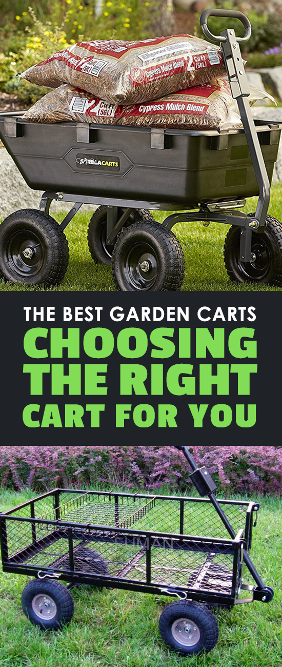 The Best Garden Carts: Choosing the Right Cart For You | Epic Gardening