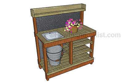 Remarkable 65 Diy Potting Bench Plans Completely Free Epic Gardening Download Free Architecture Designs Xaembritishbridgeorg