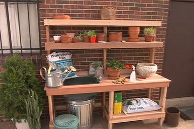 Attractive Potting Bench