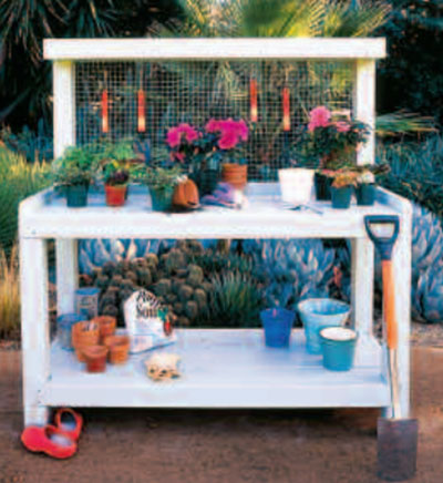 Sunsets Stylish Potting Bench