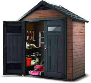 Keter Fusion Composite Storage Shed