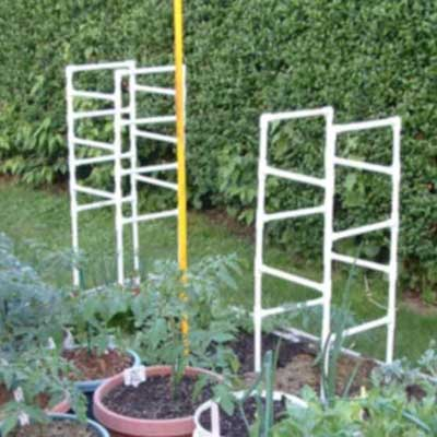 Offset PVC Ladder Cage