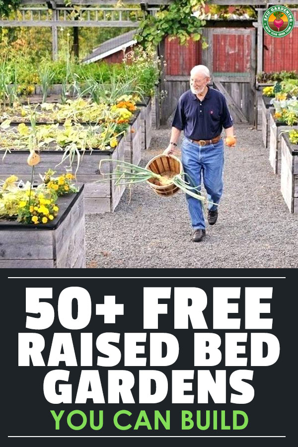 These raised bed garden plans are free, do-it-yourself, and don\'t cost much in materials to make! Organized by small - medium - large, and unconventional.