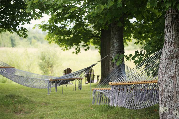 How to care for backyard hammocks outdoors