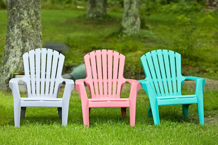 Caring for outdoor plastic furniture