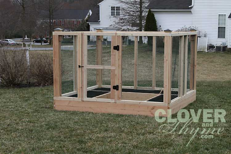 DIY Enclosed Raised Bed Garden
