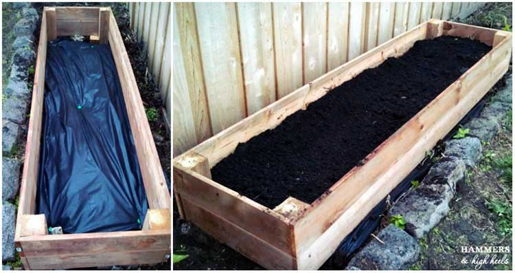 Fence Line Planter Box