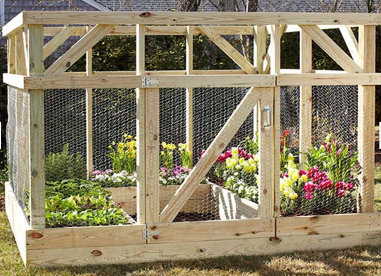 Heavy-Duty Raised Garden Enclosure