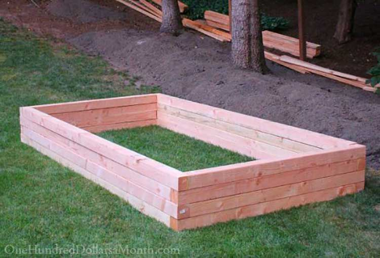 Interlocking Corner Raised Bed