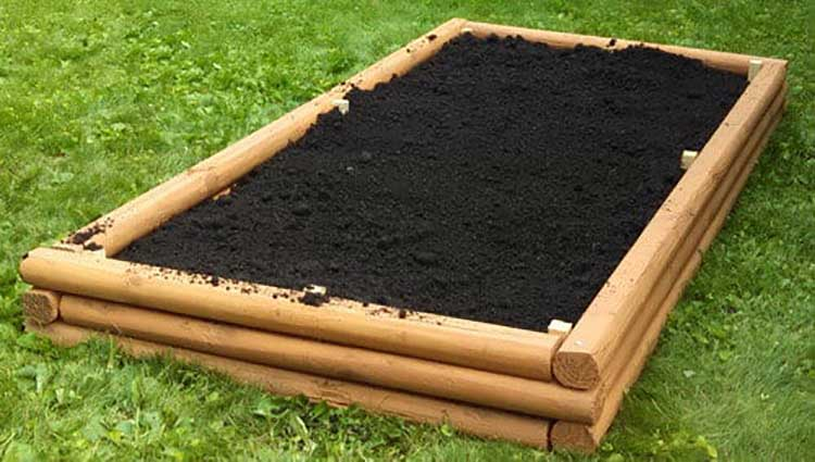 Landscaping Timber Raised Garden Beds