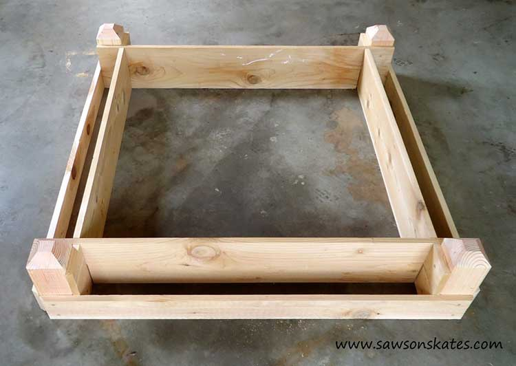Two-Tiered Raised Bed