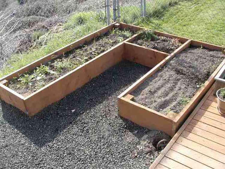 U-Shaped Raised Bed