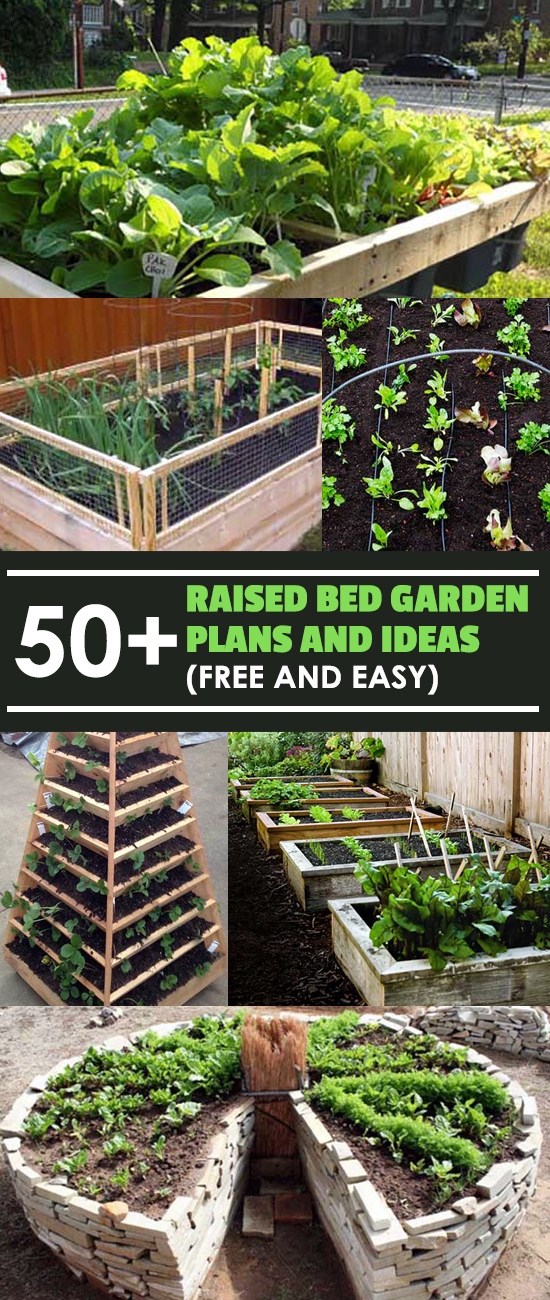 50+ Free Raised Bed Garden Plans And Ideas That Are Easy To Build