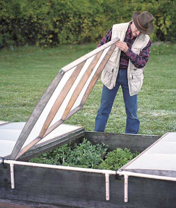 Lightweight Lid Cold Frame