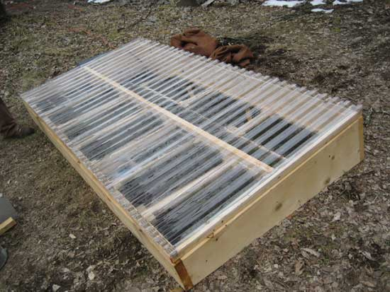 Quick n' Easy Cold Frame