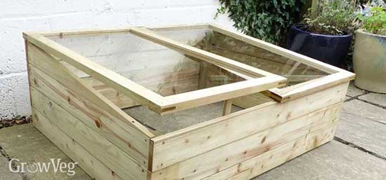 Shower Door Cold Frame