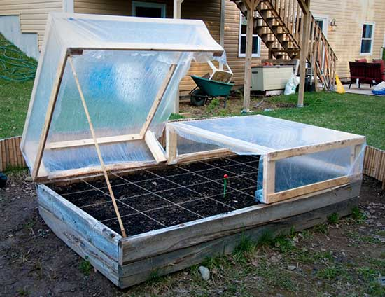 Sleek and Efficient Cold Frame