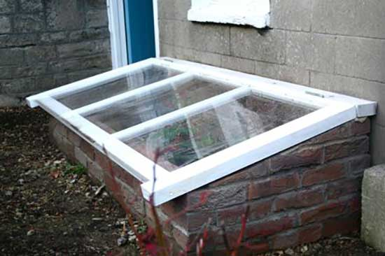 Brick Cold Frame