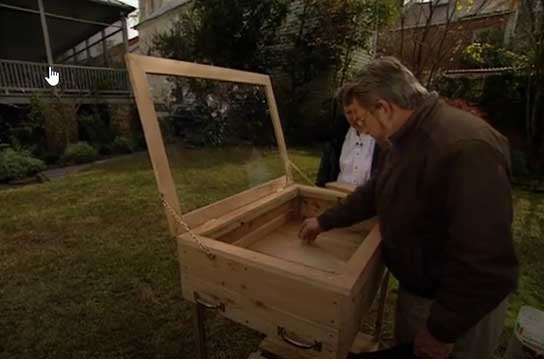 Cold Frame Table