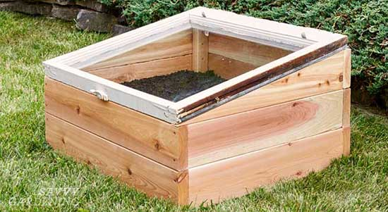 Compact DIY Cold Frame