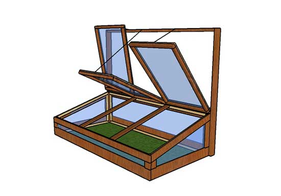 Dead Simple Cold Frame