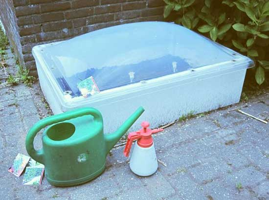 Glassless Cold Frame