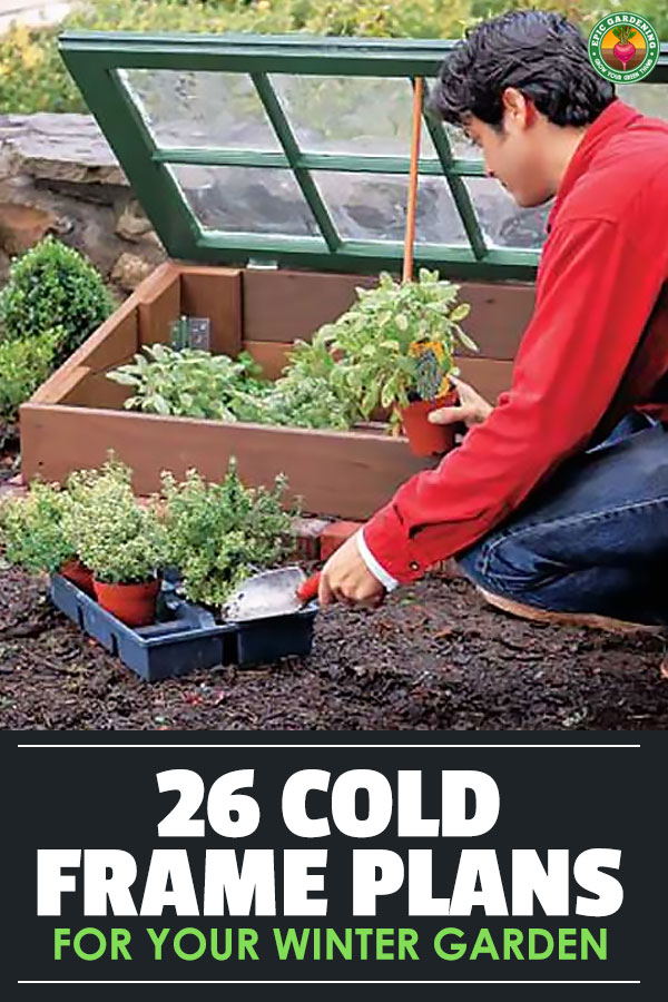 As we move into winter, many of us sigh and give up on gardening. Don\'t! With these cold frame plans, you can extend the growing season easily.