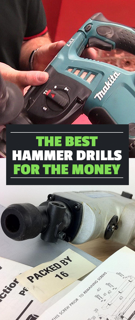 In the market for a hammer drill? Our buyer's guide will tell you everything you need to know to find the best hammer drill for your money!