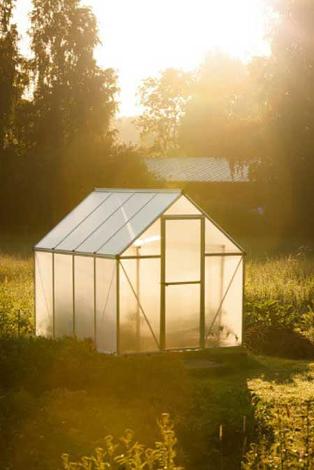 Bamboo Frame Greenhouse