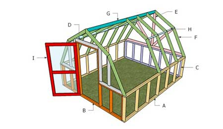 Basic Barn Greenhouse