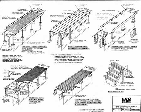 Benches For Your Greenhouse