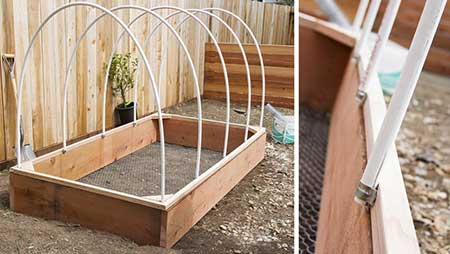 Clamshell Greenhouse