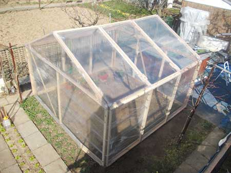 Cling-Film Greenhouse